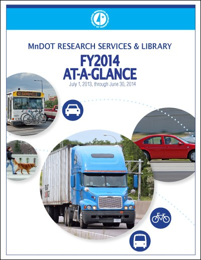 MnDOT Research 2014 At-a-Glance