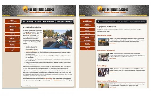 No Boundaries pooled fund website